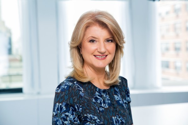 CAPTION: Arianna Huffington, photographed at AOL, in New York, NY on Thursday, April 11, 2013. (Photographs by MARCUS YAM) All rights reserved except those specifically granted herein. Please contact +1.716.400.9363 or email CONTACT@MARCUSYAM.COM to inquire about any reproduction of this image.