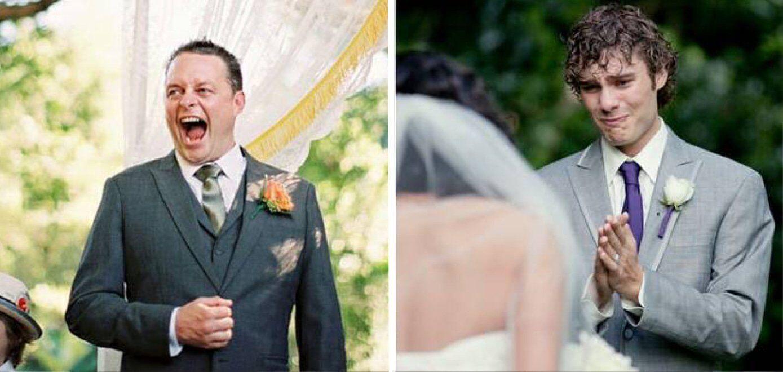 30 noivos que tiveram as melhores reações ao verem suas noivas entrando no altar