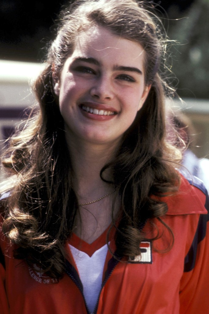 """WALNUT, CA - MARCH 23: Actress Brooke Shields attends the CBS Television Competition Special """"Celebrity Challenge of the Stars"""" on March 23, 1980 at Mt. San Antonio College in Walnut, California. (Photo by Ron Galella/WireImage)"""
