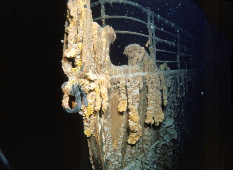 16 imagens impressionantes do Titanic quando foi encontrado no fundo do mar