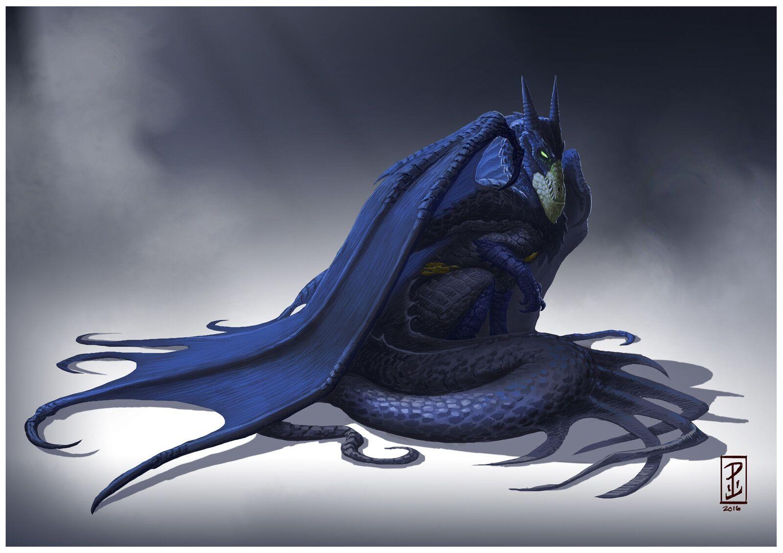 E se fossem dragões? Artista transforma super-heróis em criaturas impressionantes!