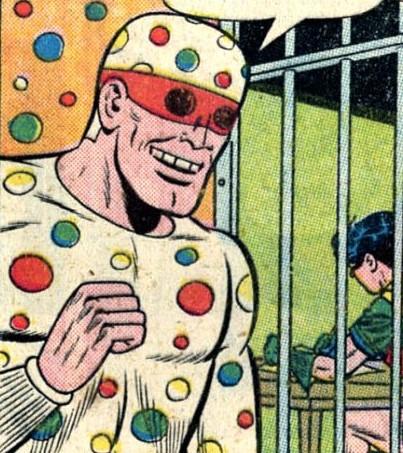 Polka Dot Man1, Fatos Desconhecidos