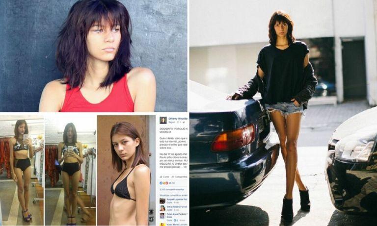 Modelo de 20 anos desabafa e escancara os abusos do mundo da moda que muita gente não conhece
