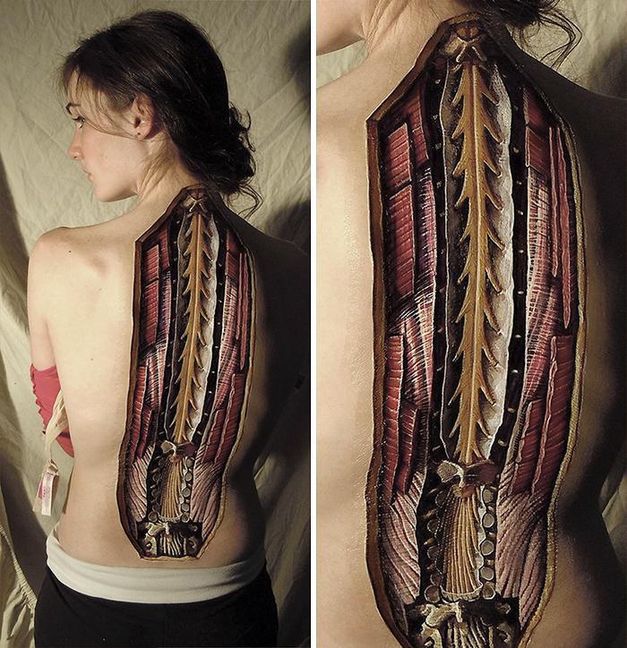 Anatomical Body Paintings Danny Quirk 1 58b7ce1561fd9  700, Fatos Desconhecidos