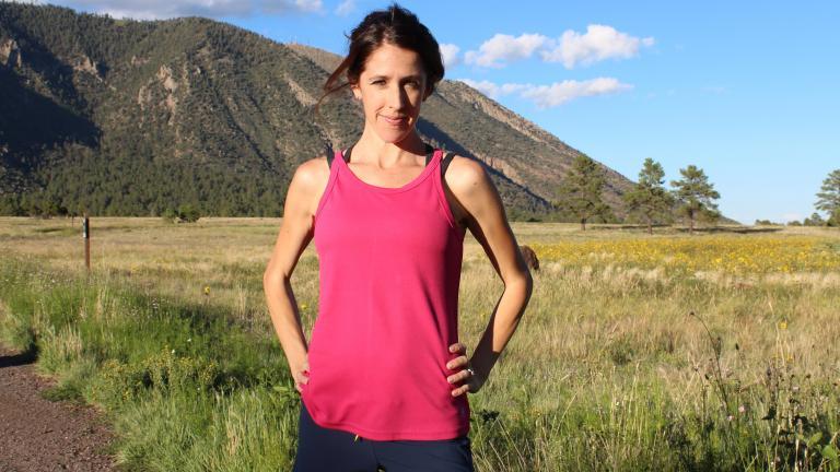 Essa atleta engravidou duas vezes, mas quando ela voltou a treinar viu que tinha algo estranho acontecendo