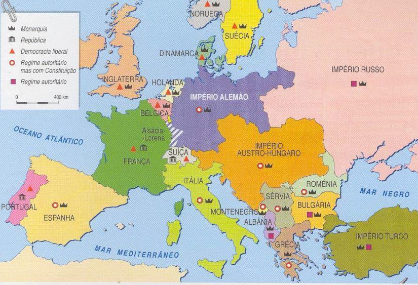 Foi assim que a Primeira Guerra Mundial mudou o mapa mundi