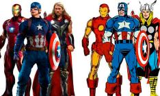 32 imagens que comparam os heróis da Marvel nos cinemas e nos quadrinhos