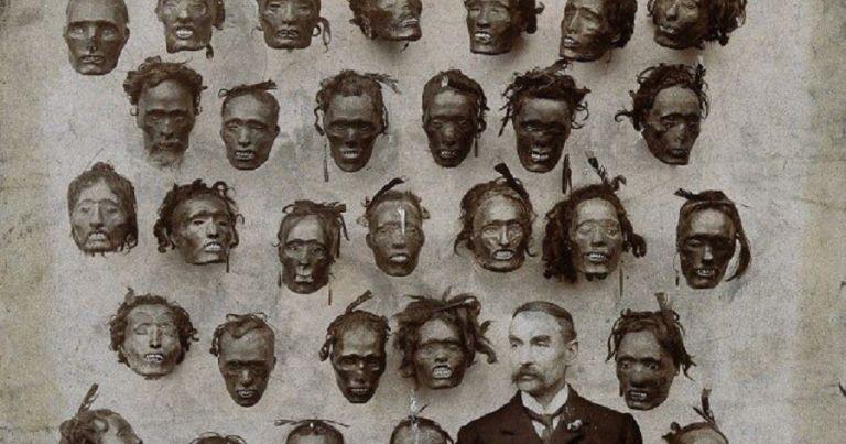 Esse homem tinha uma coleção de cabeças em casa e não era nada bonito de se ver