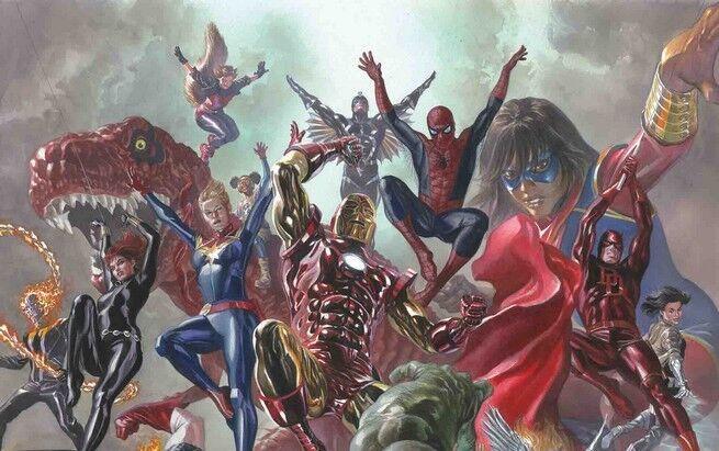 Marvel revela quem são os novos membros dos Vingadores nos quadrinhos