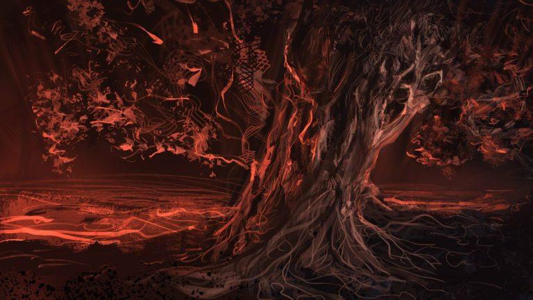 Essa é conhecida como a Árvore do Inferno, sabe por que?