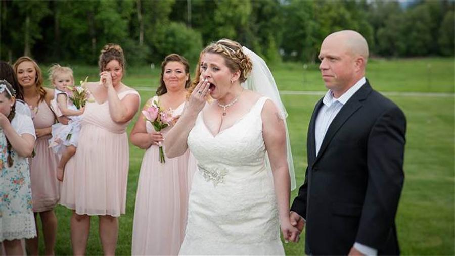 Essa mulher perdeu o filho, mas no dia do seu casamento teve uma surpresa emocionante