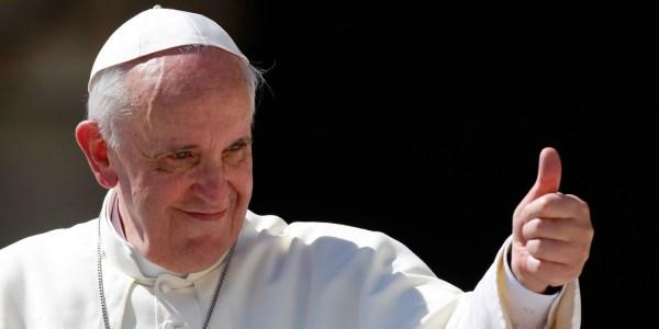 Papa Francisco To No Cosmos 600x300, Fatos Desconhecidos