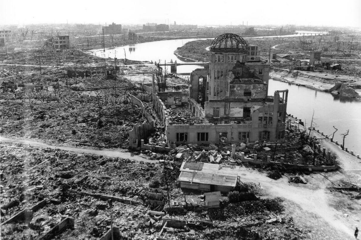 A cidade de Hiroshima era assim antes de ser destruída pela bomba atômica