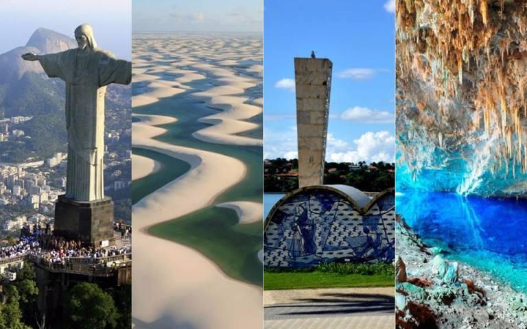 10 pontos turísticos mais incríveis de cada região brasileira
