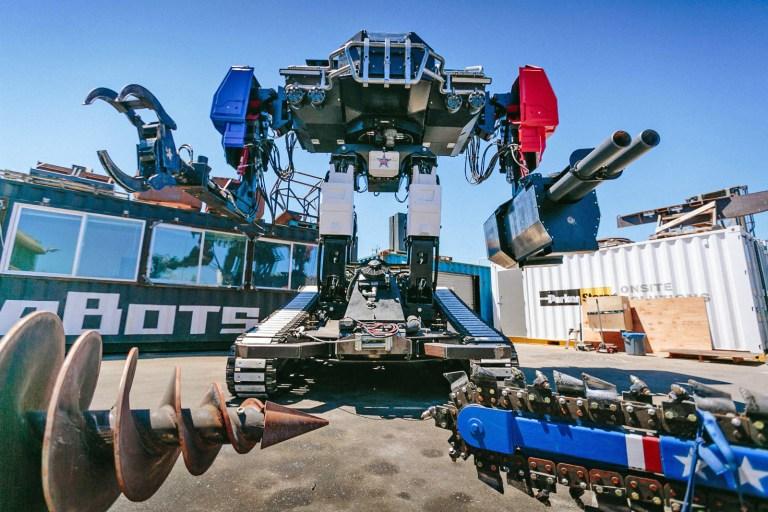 Japão e Estados Unidos estão preparando brigas de robôs gigantes