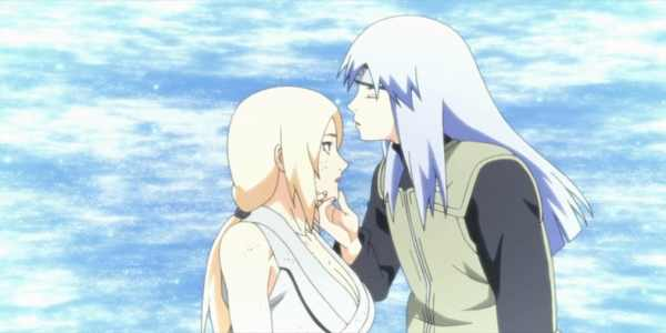 Dan Kissing Tsunade Naruto 15 Things You Didn T Know About Tsunade 600x300, Fatos Desconhecidos