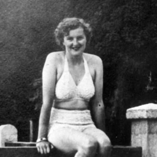 Eva Braun 1940 500x500, Fatos Desconhecidos