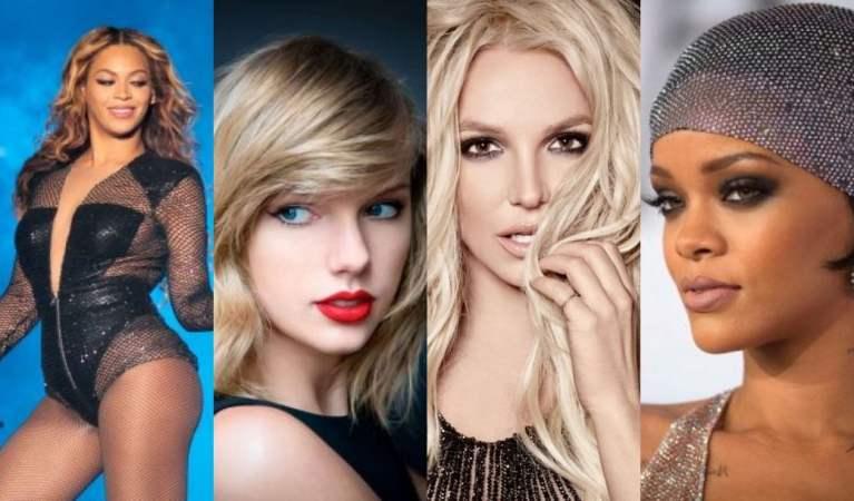 Essas são as 10 cantoras mais bem pagas do mundo
