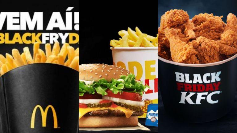 7 redes de fast-food com deliciosas promoções nessa Black Friday