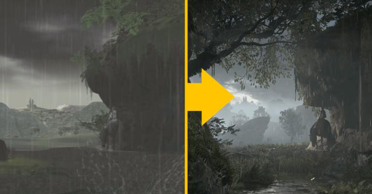Incrível! Vídeo compara a sensacional evolução nos gráficos de Shadow of the Colossus