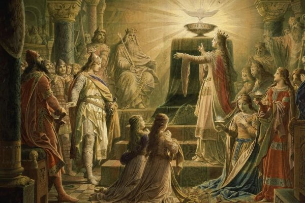 Temple Of The Holy Grail Final Scene From Parsifal Opera By Richard Wagner 600x400, Fatos Desconhecidos