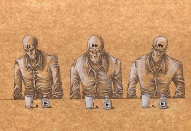 Um artista ilustrou como são os verdadeiros valores da sociedade moderna