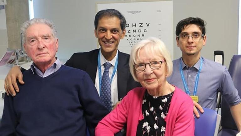 Médicos conseguiram restaurar a visão de dois pacientes cegos usando células-tronco. Entenda