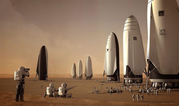 Foguete com destino a Marte entrará em testes no começo de 2019