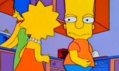 Como são os personagens de Os Simpsons vistos de frente?