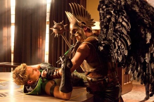 Green Arrow SV TV S09 Green Arrow Vs Hawkman 600x400, Fatos Desconhecidos