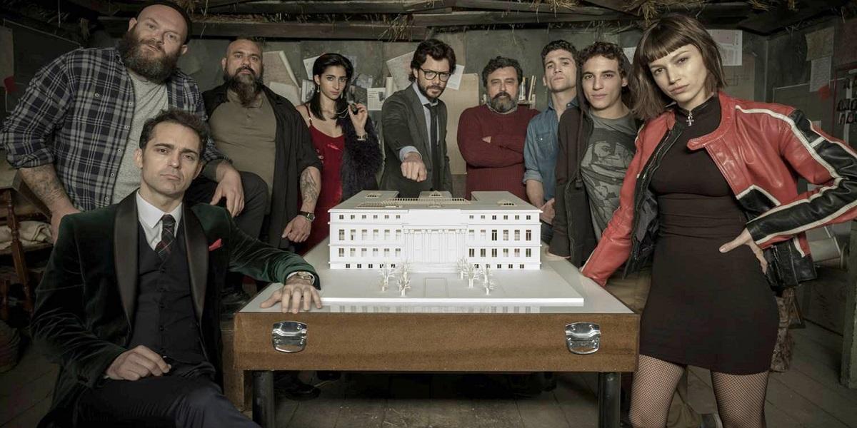 Saiba como será a nova série da Netflix com os atores de La Casa de Papel