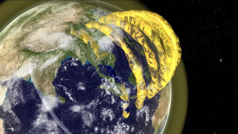 Existem tubos de plasma sobrevoando a Terra. Entenda