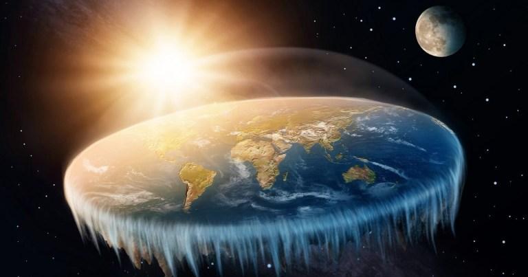 Assim seria a nossa vida se a Terra fosse plana