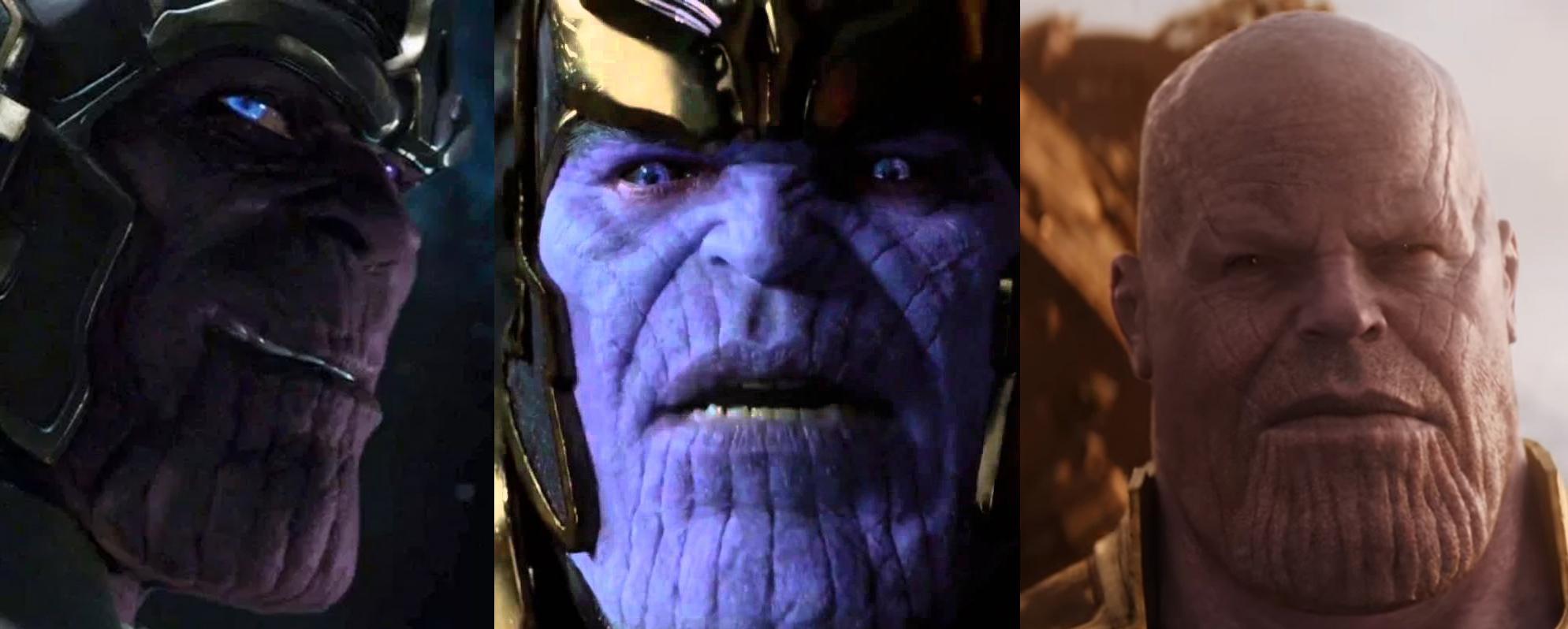 Porque o visual de Thanos mudou tanto em Vingadores: Guerra Infinita