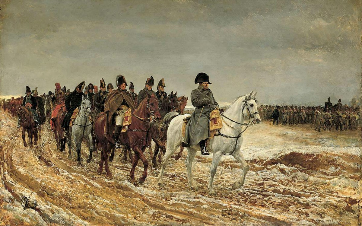 Meissonier   1814 Campagne De France, Fatos Desconhecidos