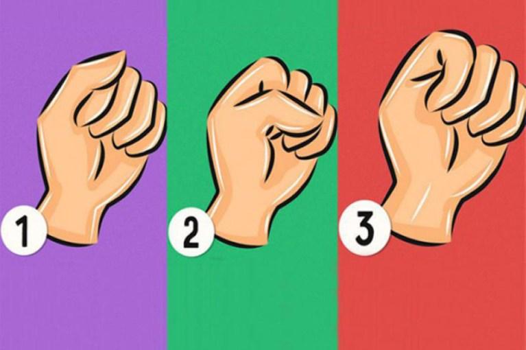 A maneira como você fecha a mão pode indicar coisas incríveis sobre a sua personalidade