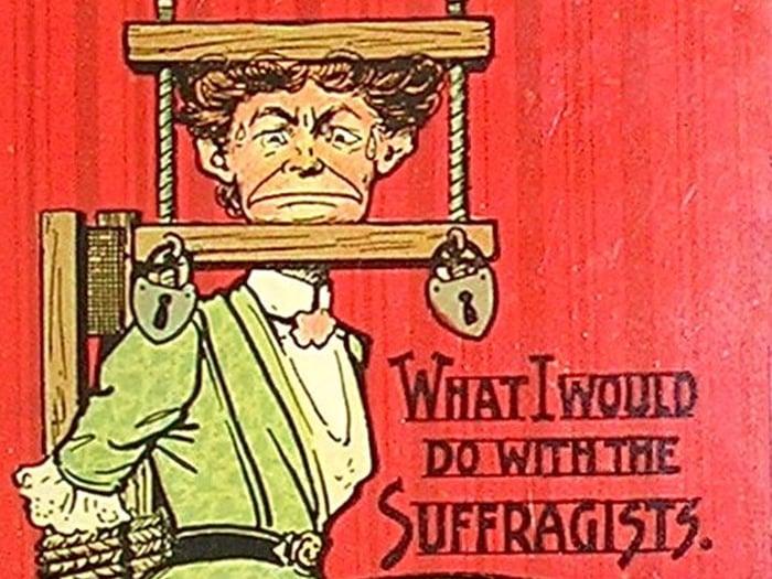 20 propagandas que mostram como as mulheres eram tratadas no passado