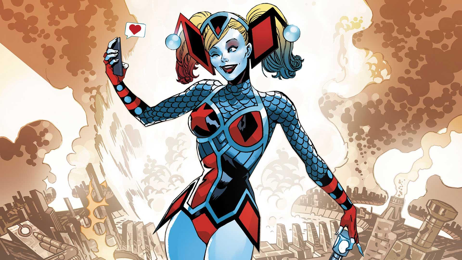 Arlequina se torna uma deusa em nova história da DC Comics