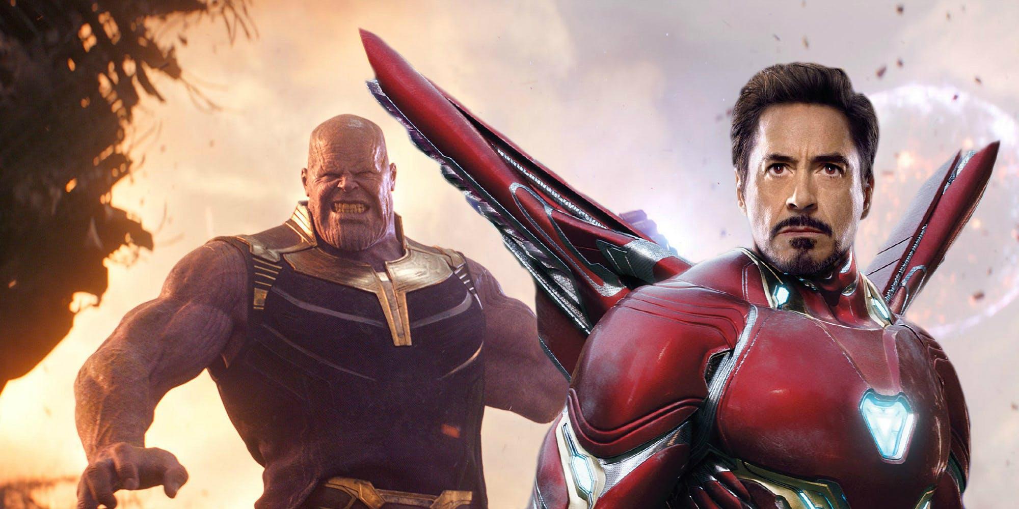 Revelado como Thanos já conhecia Tony Stark