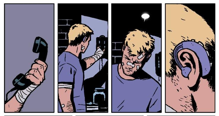 Hawkeye Deaf, Fatos Desconhecidos