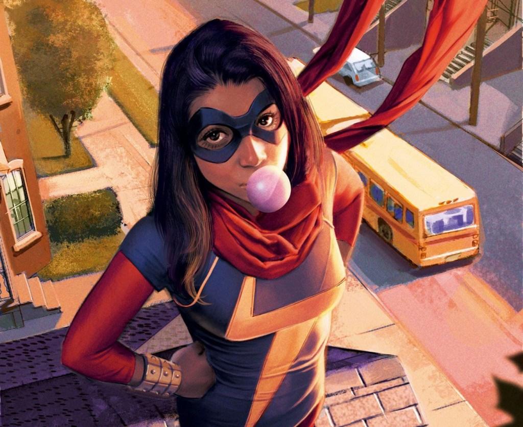Miss Marvel Kamala Khan 1024x835, Fatos Desconhecidos
