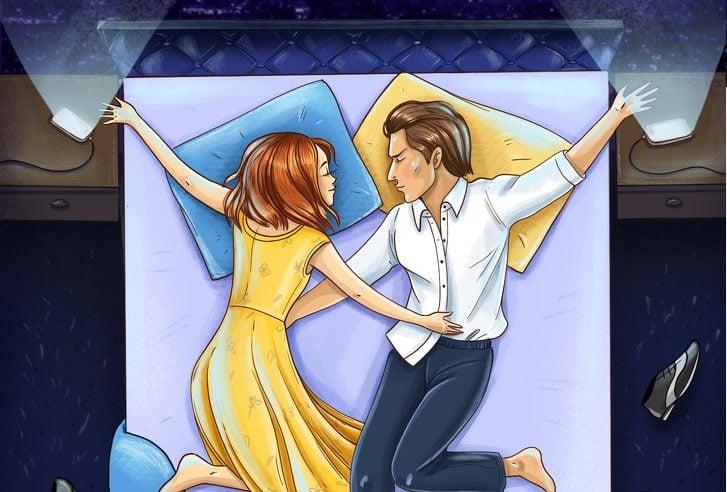A forma como você dorme com seu parceiro pode dizer muito sobre o casal