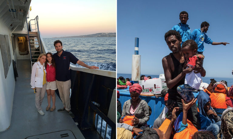 Um multimilionário doou metade de todo seu dinheiro para ajudar refugiados