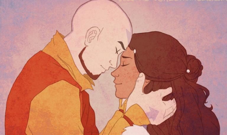 8 coisas que você não sabia sobre o relacionamento de Aang e Katara