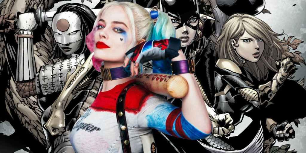 Margot Robbie As Harley Quinn With Birds Of Prey Comic Background 1024x512, Fatos Desconhecidos