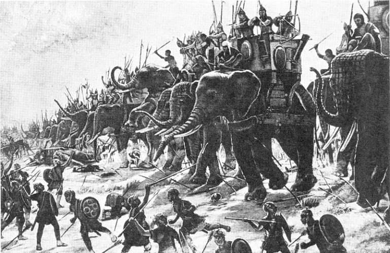 Fortaleza que era defendida por elefantes de guerra foi descoberta no Egito