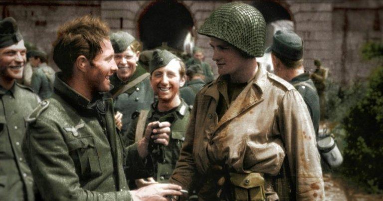O dia em que americanos e nazistas lutaram lado a lado