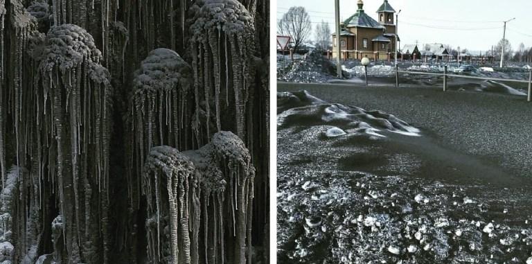 O que seria essa neve negra que está caindo na Sibéria?