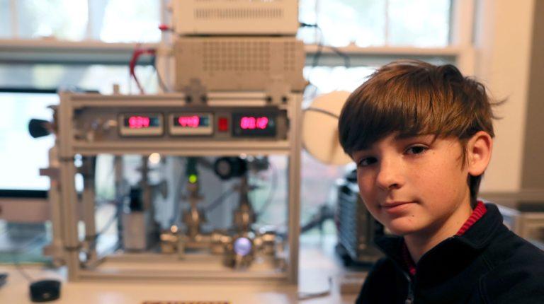 Esse jovem parece ter criado uma fusão nuclear com apenas 12 anos