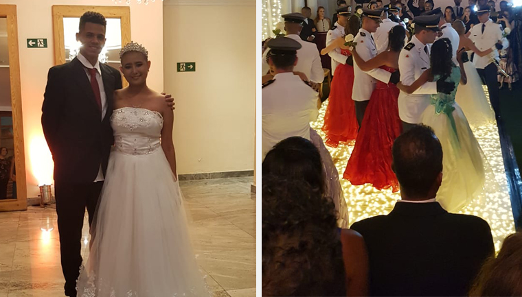 Garotas que lutam contra o câncer ganham festa de 15 anos em BH